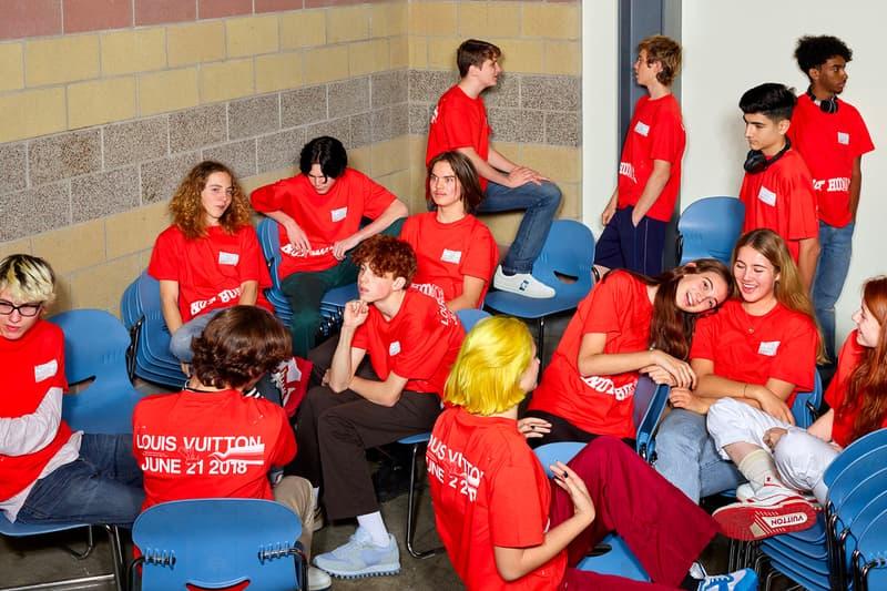 Louis Vuitton School Teens Spring Summer 2019 Campaign Virgil Abloh