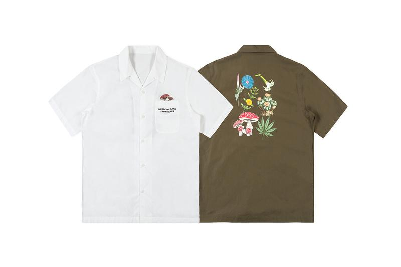 maharishi Somaharishi Festival SS19 Collection spring summer 2019 capsule t shirt tees graphic outerwear where to buy price clothes jacket parka shorts bandana pants bottoms long sleeve shortsleeve longsleeve short