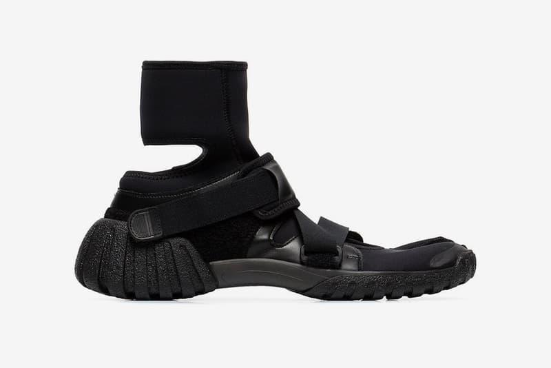 Maison Margiela Tabi Medic Strap Sneakers Release Black