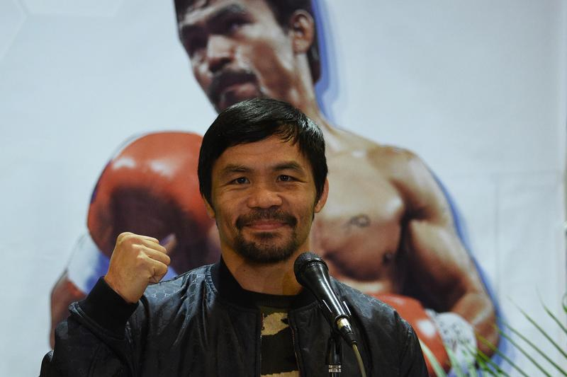 Manny Pacquiao Signs Contract With Rizin 15 Boxing Floyd Mayweather