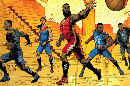 """Marvel Studios Joins adidas Basketball for Collaborative """"Heroes Among Us"""" Sneaker Pack"""