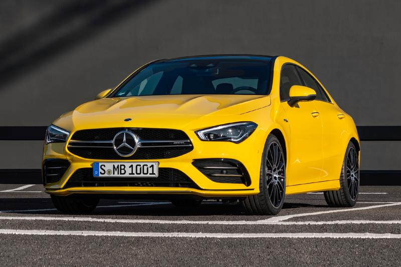 Mercedes AMG Pumps 300 Horsepower Into its 2020 CLA 35