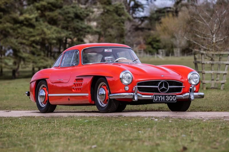 Mercedes-Benz 300SL Gullwing 1954 Fire Engine Red £850,000 - 1,000,000 GBP Estimation 1980404500118 Chassis Classic Sporting Motor Car German Vintage Rare Sportscar