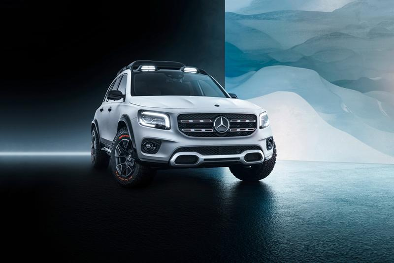 Mercedes-Benz's Concept GLB 2019 Delivers a Roomy Compact SUV