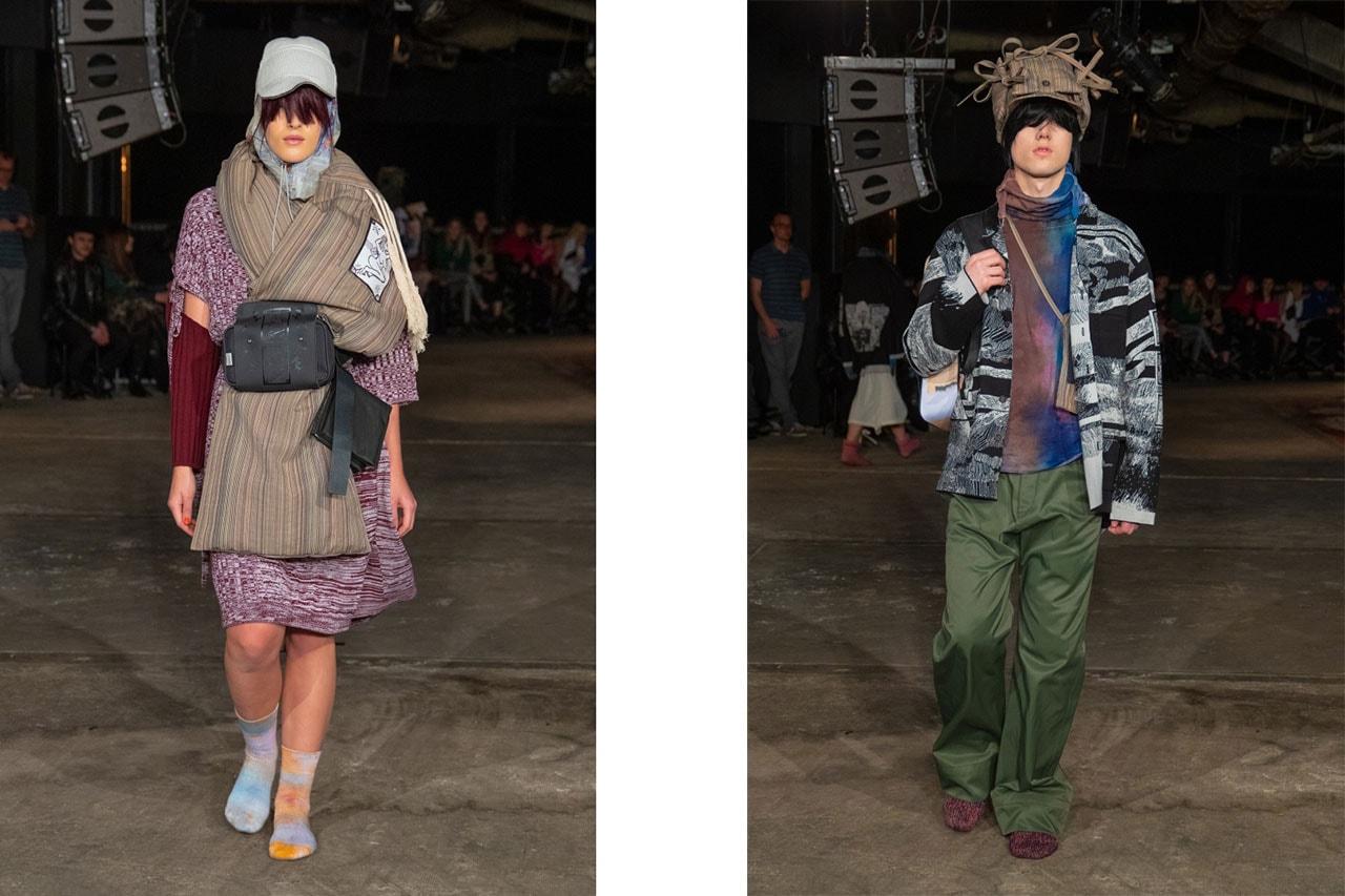 Prague Fashion Week Fall/Winter 2019 Show Recap fw19 jan cerny adam kost umprum atelier Petra Ptáčková modni tvorby Lukáš Krnáč