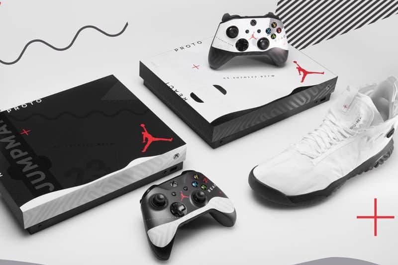 Microsoft Jordan Brand Xbox One X Giveaway