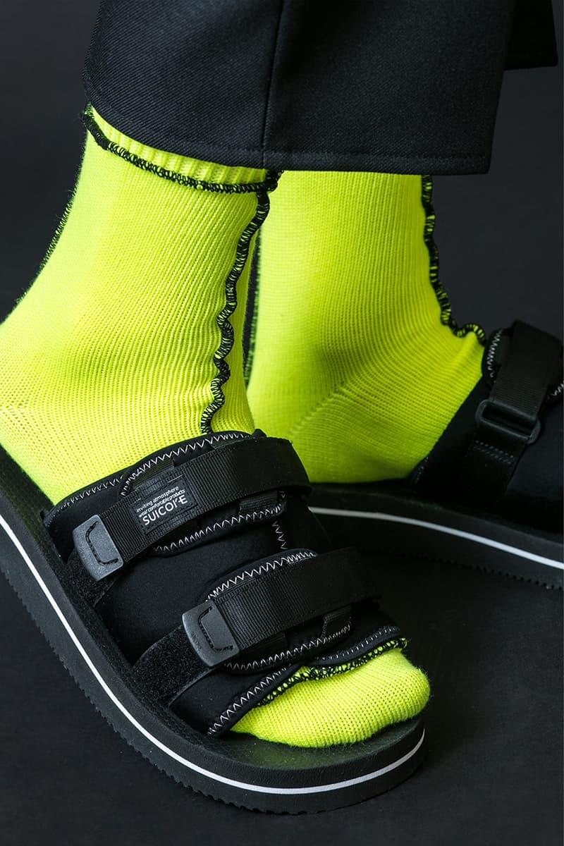 monkey time x Suicoke MOTO-VMT SS19 Collaboration spring summer 2019 sandals slide black olive colorway may 2019 release date info drop buy shoe japan
