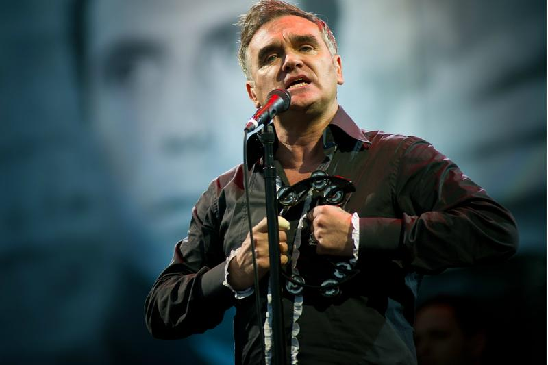 Morrissey New Song Interpol tour Billie Joe Armstrong 5th Dimension Wedding Bell Blues California Son