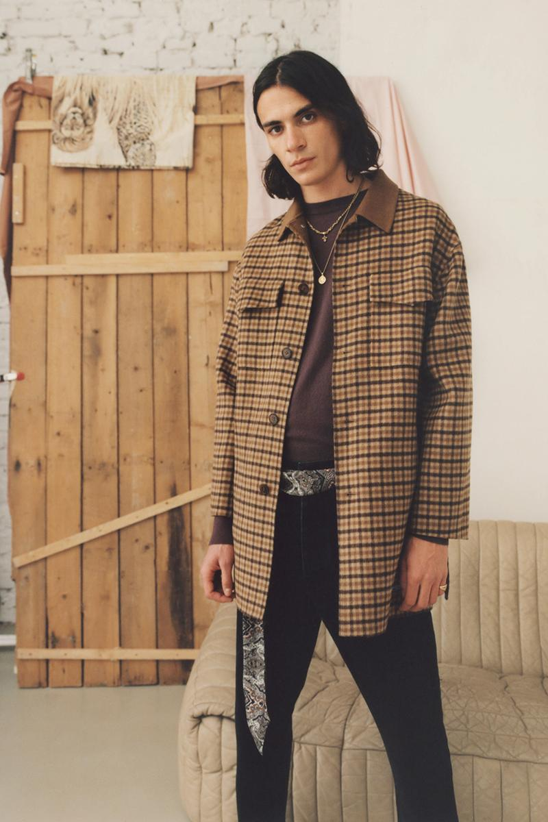 Nanushka FW19 Fall/Winter 2019 Menswear Lookbook Budapest Fashion Contemporary Materials Sustainability London College of Fashion