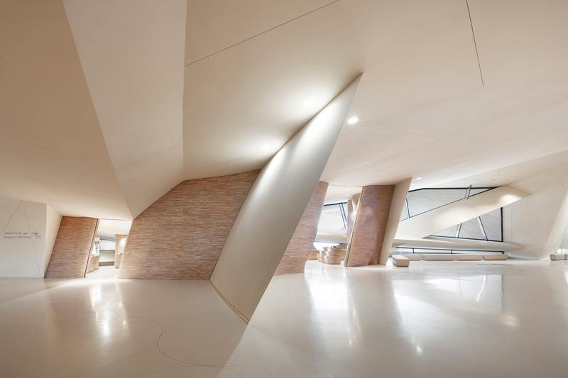 Inside the National Museum of Qatar's Impressive Curvilinear Gift Shop
