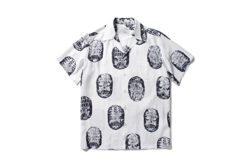 Neck Face WACKO MARIA Hawaiian Shirt Collection