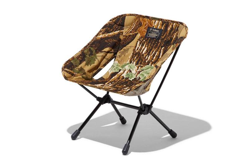 NEIGHBORHOOD x Helinox 2019 Collaboration Collection camping camouflage print pattern tent chair april 6 2019 japan release date info