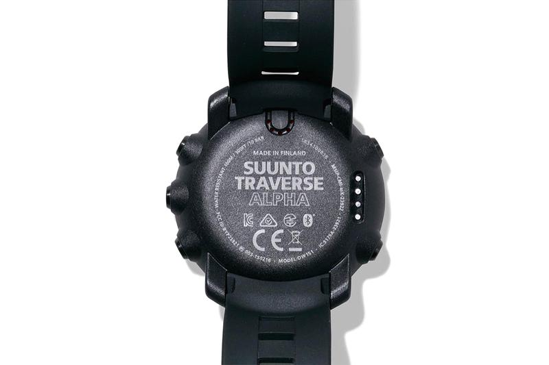 NEIGHBORHOOD x Suunto Japan Finland Tokyo Squad 3204 Watches Military Inspired Design Timepiece Black Digital Screen Traverse Alpha altitude measurements weather resistant
