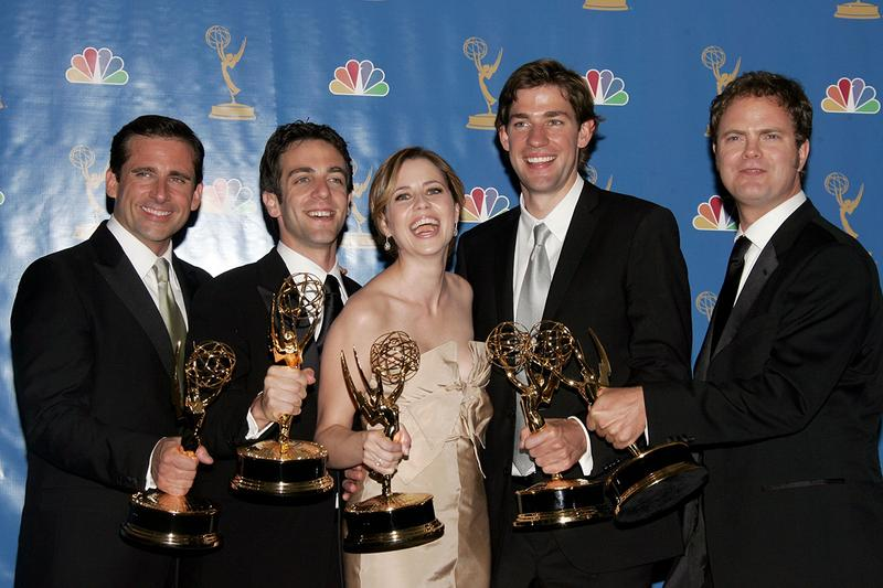 Netflix Reportly May Lose The Office and Friends dunder mifflin steve carell john krasinski jenna fischer series television entertainment