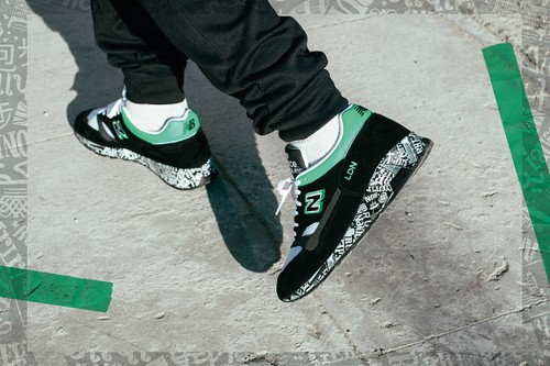 "New Balance M1500 ""London Marathon"" Returns With Green Embroidery"