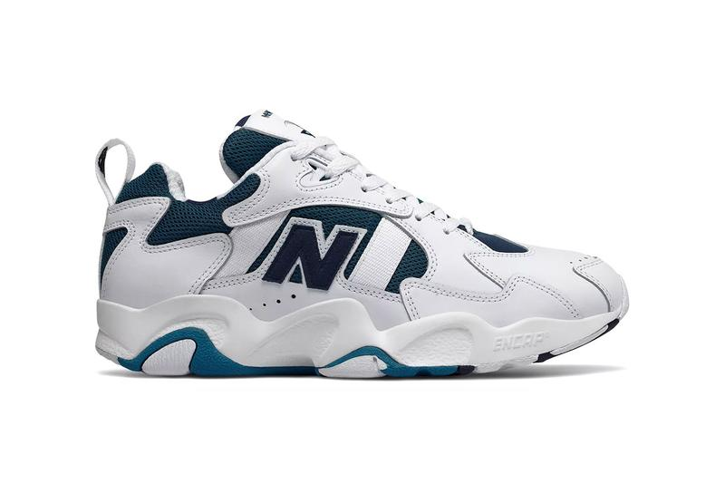 New Balance Reissues ML650V1 White/Navy Sneaker 1995 original og release drop retro buy sale dad chunky runner