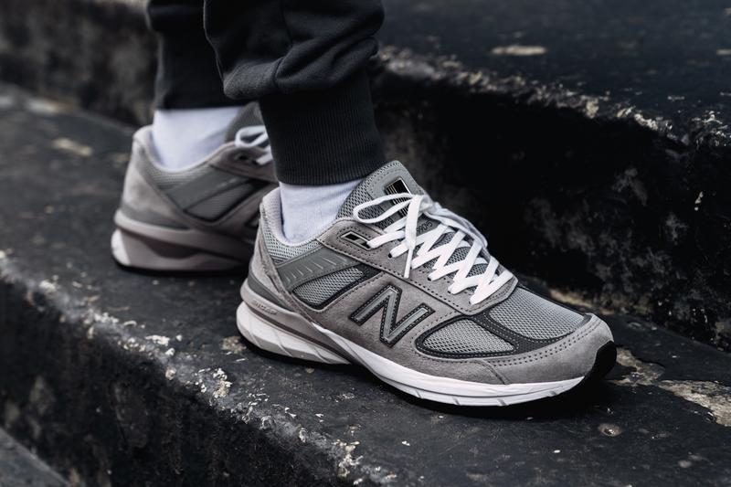 differently 2aaca 5d5bf New Balance 990v5 Made In US Grey/Castlerock | HYPEBEAST