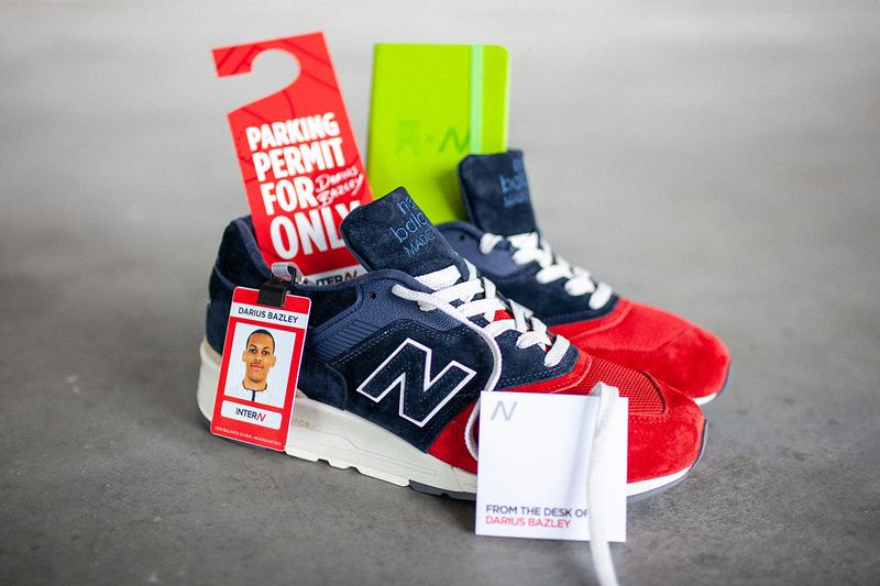 "New Balance 997 ""The Intern"" Darius Bazley NBA G League Syracuse Backpack Set Collection Spring Summer 2019 SS19 Footwear Patriotic Colorway Red Blue Tan White ENCAP Embroidered"