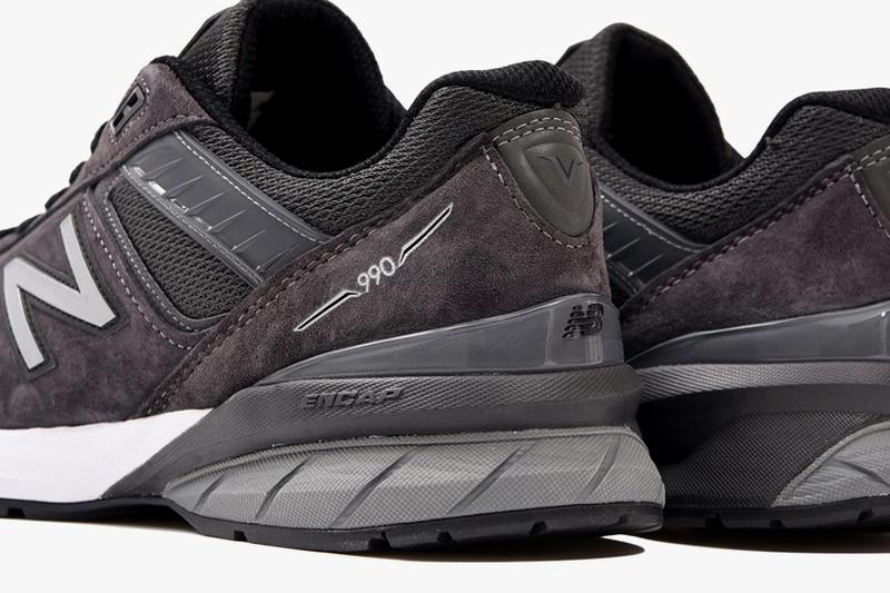 UNITED ARROWS x New Balance 990v5 Charcoal Release Info M990UA5 grey black white