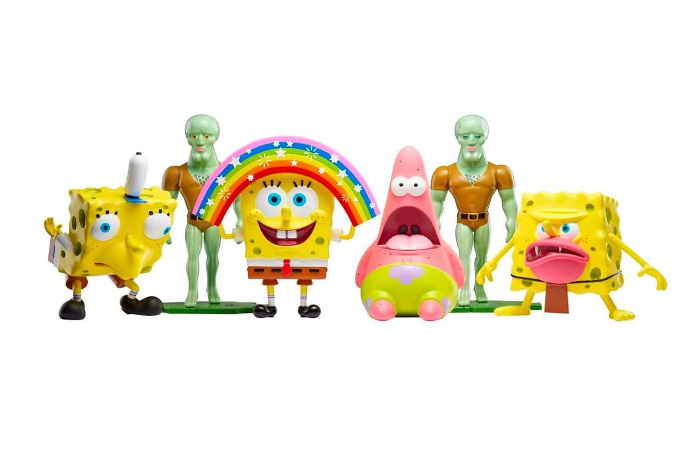 Nickelodeon Celebrates 'Spongebob Squarepants' Memes With Collectible Figures