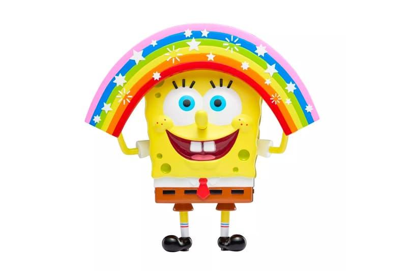 Nickelodeon Spongebob Squarepants Memes Figures Release SpongeGar Imaaaaaaagination Spongebob Surprised Patrick Handsome Squidward closed opened eyes Mocking masterpiece