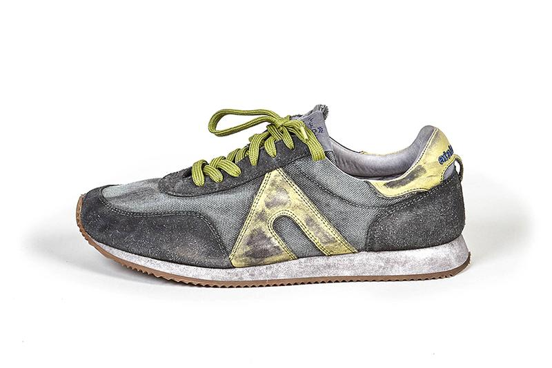Nigel Cabourn x Atalasport Stonewashed Trainer shoes trainer kicks footwear