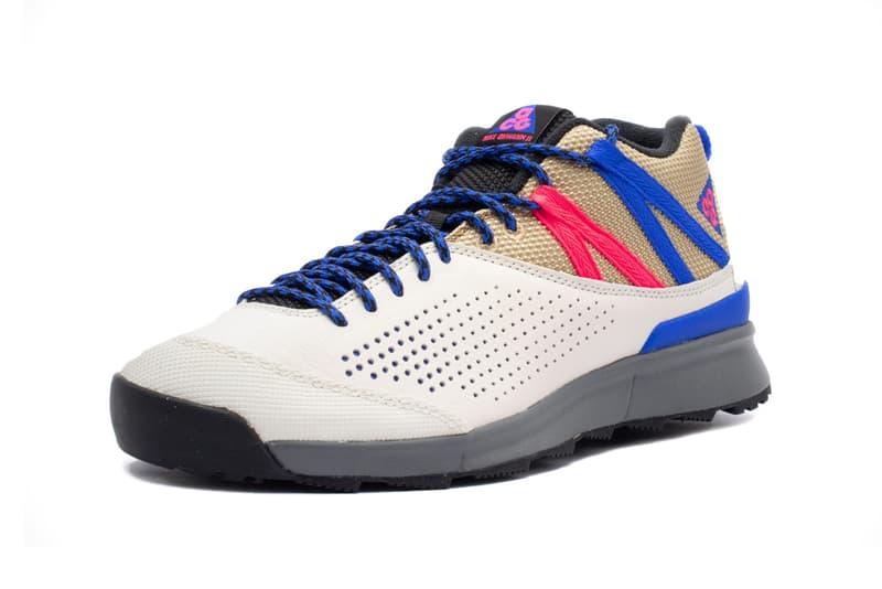 nike acg all okwahn ii 2 all conditions gear beige blue colorway sneaker shoe release