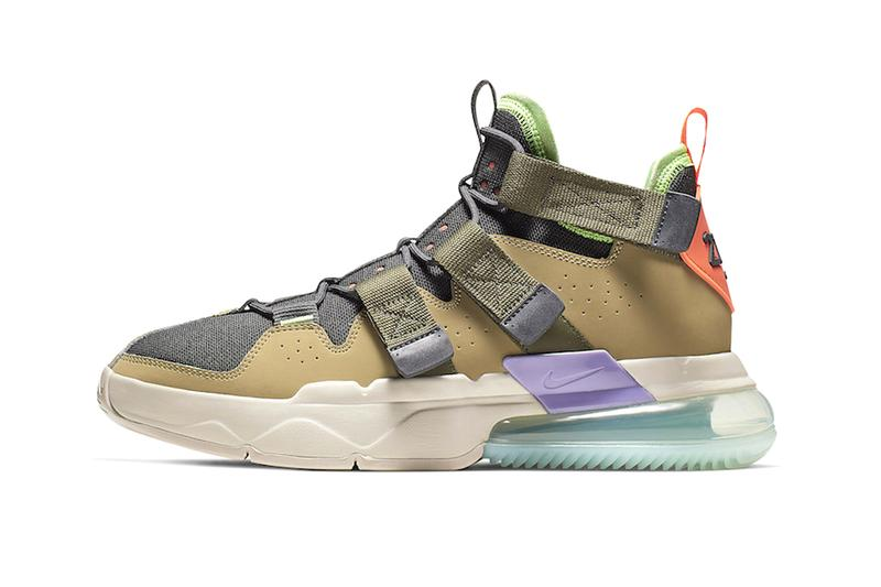 Nike Expands its Air Edge 270 Line with Earthy Tones charles barkley basketball sneaker shoes
