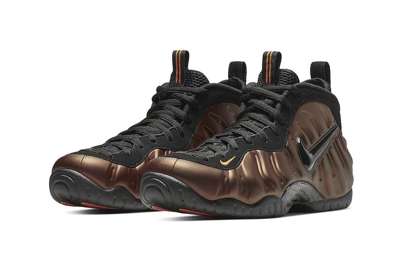 Nike Air Foamposite Pro Hyper Crimson Release Info 624041-800 brown black