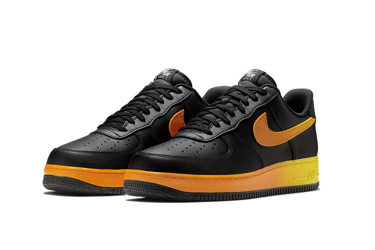 Nike Air Force 1 07 LV8 Black/Orange