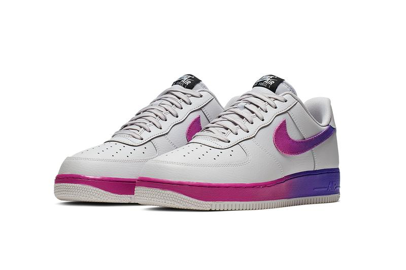 Nike Air Force 1 '07 LV8 Vast Grey Hyper Grape BLACK ORANGE PEEL OPTI YELLOW Release Info CJ0524-001 CJ0524-002