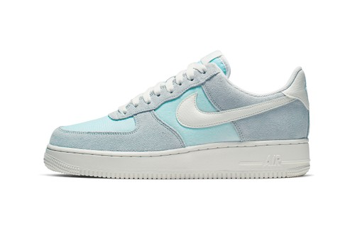 "The Nike Air Force 1 Low Receives an ""Ghost Aqua/Sail"" Makeover"