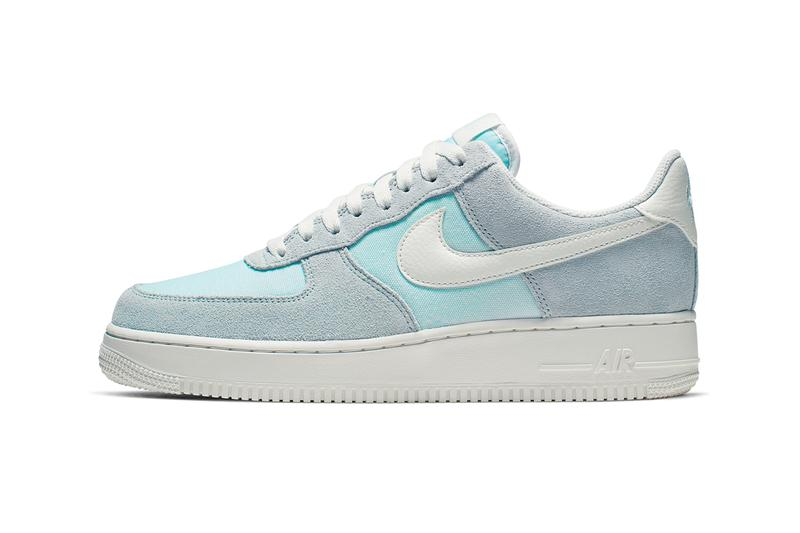 new product 732f8 6ffe6 Nike Air Force 1 Low Icy Colorway Release Info sneakers shoes Ghost Aqua  Sail