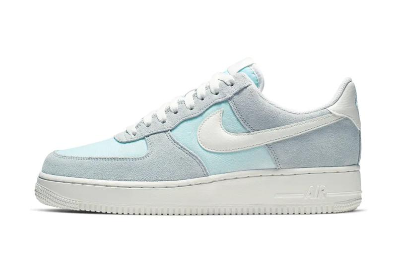 f8eb08711468e9 Nike Air Force 1 Low Icy Colorway Release Info sneakers shoes Ghost Aqua  Sail
