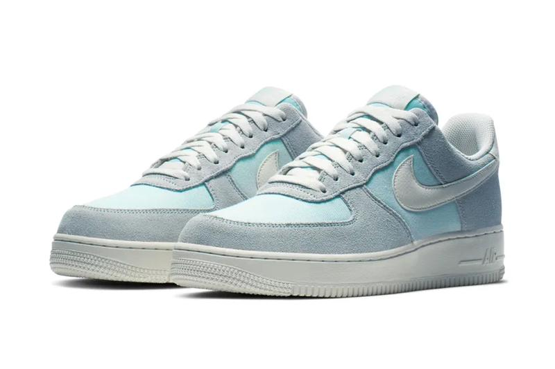Nike Air Force 1 Low Icy Colorway Release Info sneakers shoes Ghost Aqua Sail