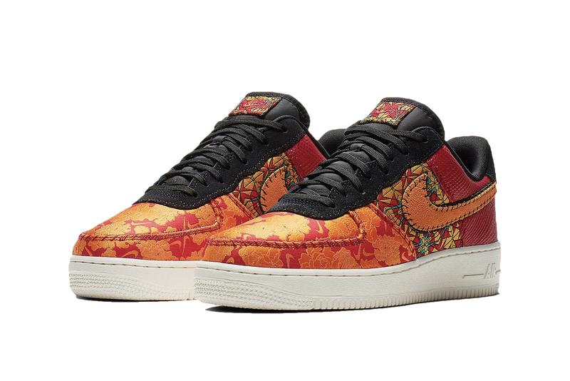 hot sale online c09a8 44623 Nike Air Force 1 Gym Red Orange Black Canyon Gold AT4144-601
