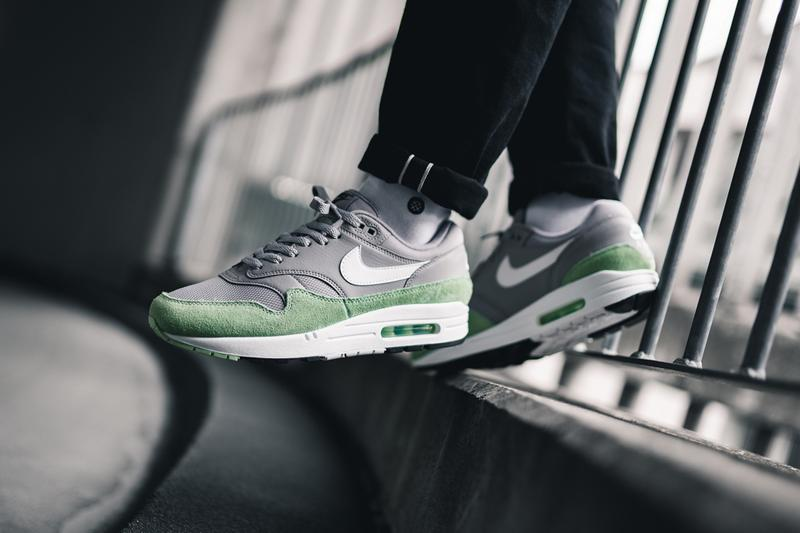 Nike Air Max 1 Fresh Mint Release Date and Pricing Patta AM1 Green Suede Grey lime release date info buy