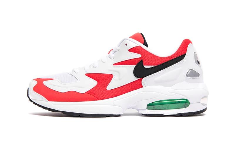 449786c0b416e Nike Air Max 2 Light Habanero Red Release Info AO1741-101 white red