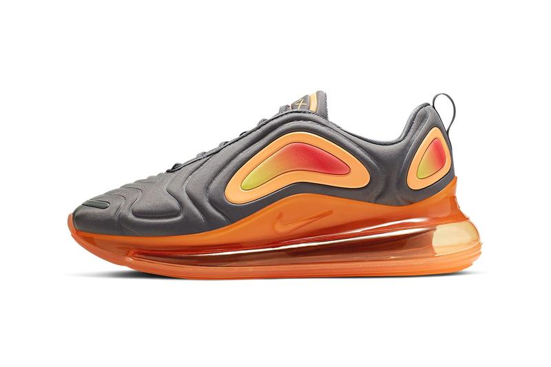 nike air max 720 anthracite laser fuschia black pink blast gunsmoke fuel orange colorway release spring 2019