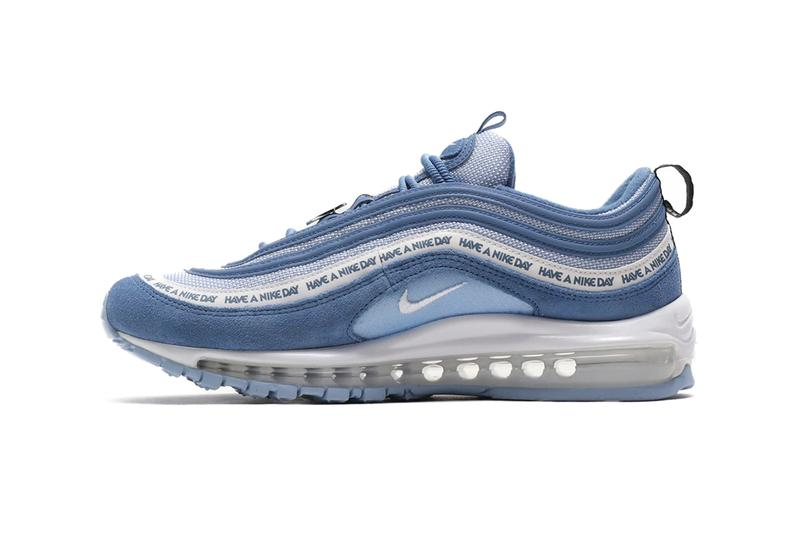 6b542c13 Nike Air Max 97 Have A Nike Day Indigo Storm White Black Aluminium SP19  SS19 Spring