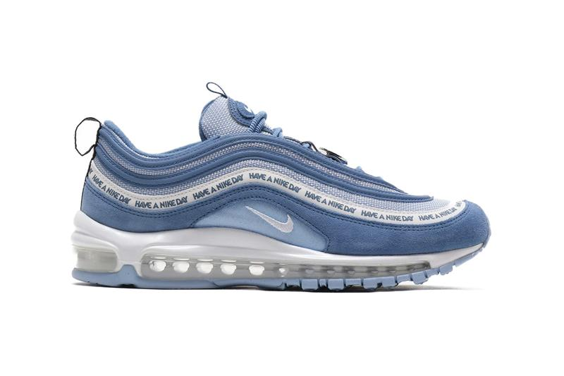 Nike Air Max 97 Have A Nike Day Indigo Storm White Black Aluminium SP19 SS19 Spring Summer 2019 Footwear Release Drop Date Atmos Tokyo