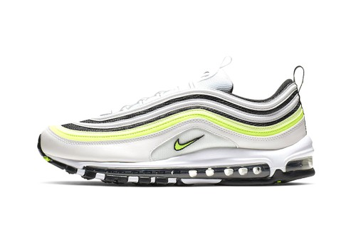 "The Nike Air Max 97 Receives a New ""White/Volt"" Colorway"