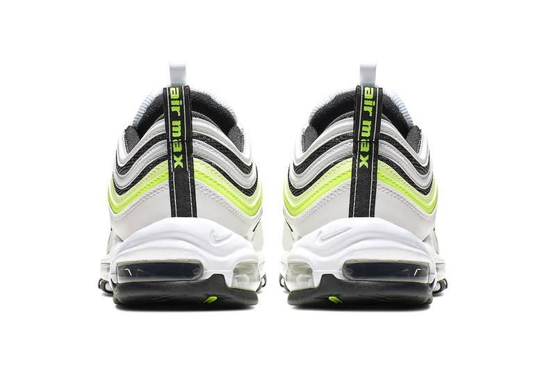 The Nike Air Max 97 White Volt Release Hypebeast