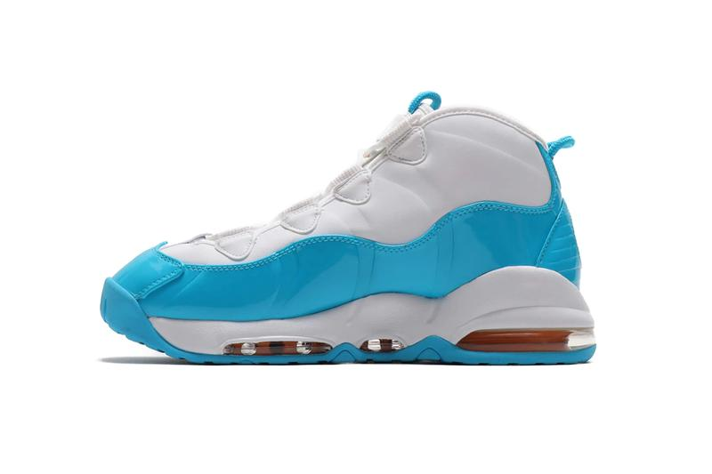 best loved b8959 0e8a3 Nike Air Max Uptempo 95 White Blue Fury Canon Gold SS19 Sneaker Release  Information Drop Date