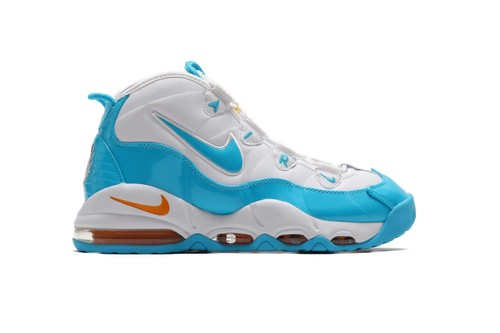 """Nike Release Vibrant Air Max Uptempo 95 """"Blue Fury"""""""