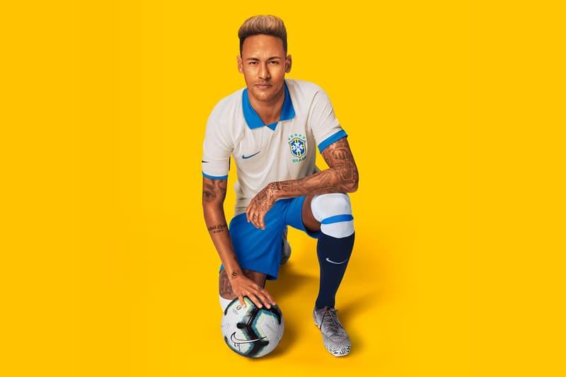Nike Brasil Copa America 100-Year Victory Kit football socer neymar jr