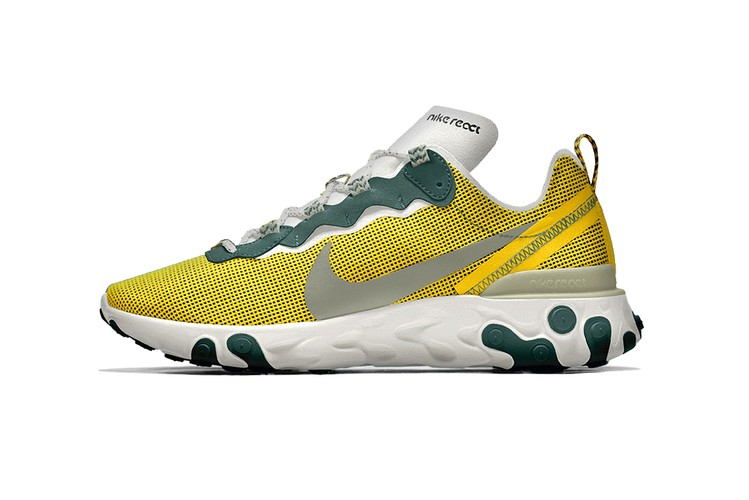 e21bf12de1d Nike By You Introduces Customizable React Element 55. Footwear