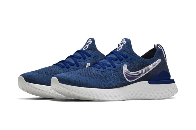 Nike Epic React Flyknit 2 Barcelona, Tottenham & Chelsea Customization football soccer blue red clubs