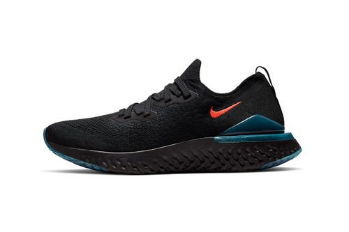 "Nike's Epic React Flyknit 2 Sees Stealthy Hits of ""Blue Fury"" & ""Bright Crimson"""