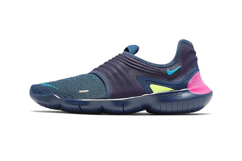 separation shoes 34b64 ba48e Nike Free RN Flyknit 3.0 Midnight Navy Volt Style Code AQ5707-400